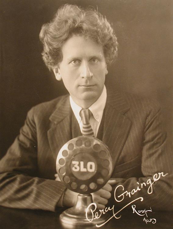 Publicity portrait of Percy Grainger, 1926 (Ruskin Studios, Melbourne).