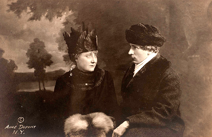 Rose and Percy Grainger, New York City, c.1915. Aime Dupont, New York.
