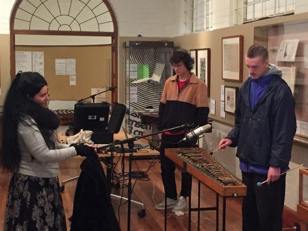 Image for Living Instruments: Sampling & digitising Percy Grainger's historic percussion