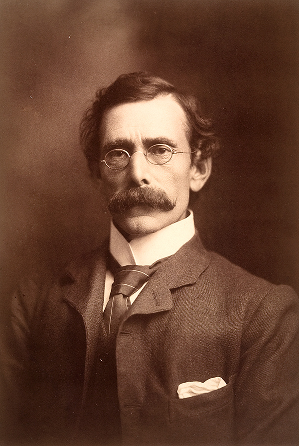 Portrait of John Grainger, taken by Bartletto in 1901 (Bartletto).