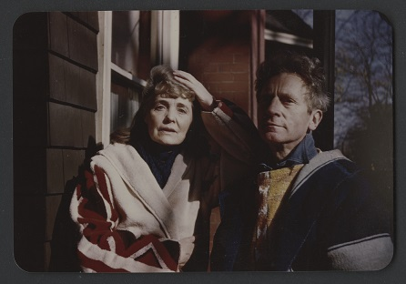 Colour photo of Percy and Ella Grainger