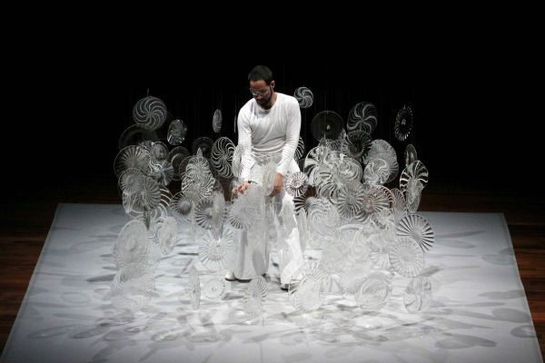 Image for Reflections: contemporary glass sculpture in performance