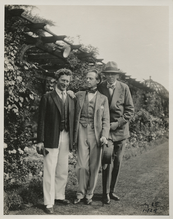 Percy Grainger, Cyril Scott and Roger Quilter at Harrogate Festival.