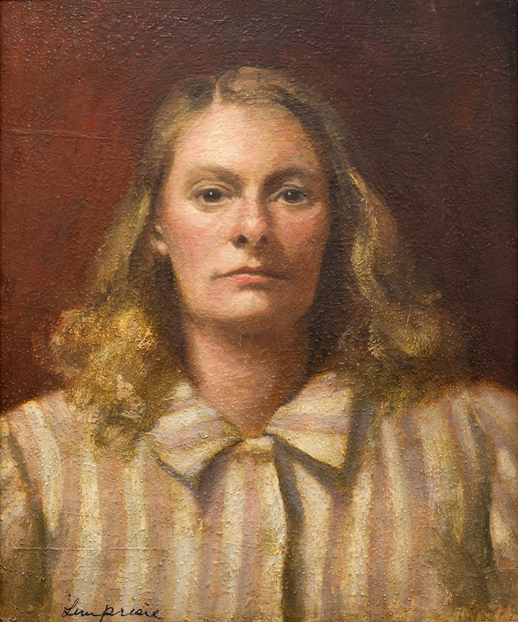 Helen Lempriere, Self Portrait (38 Yrs), 1945