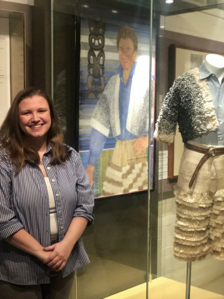 Marissa Kyser at the Grainger Museum